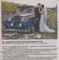 Hot Rod Hire Testimonials - Herald Sun