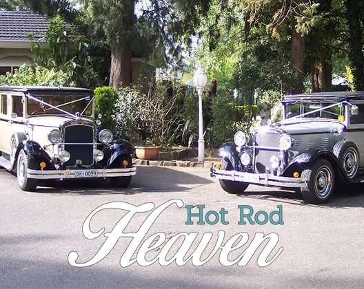 Hot Rod Heaven - Hot Rod Wedding Car Hire