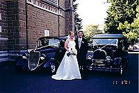 Hot Rod Hire Testimonials - Leanne & Martin